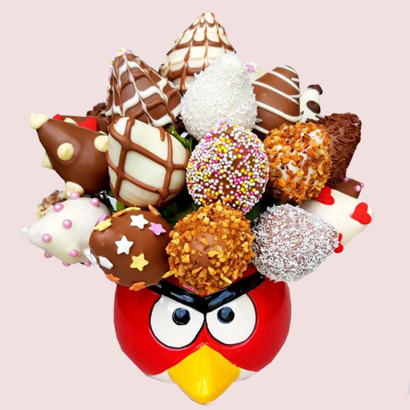 Angry Birds Strawberry Bouquet Red