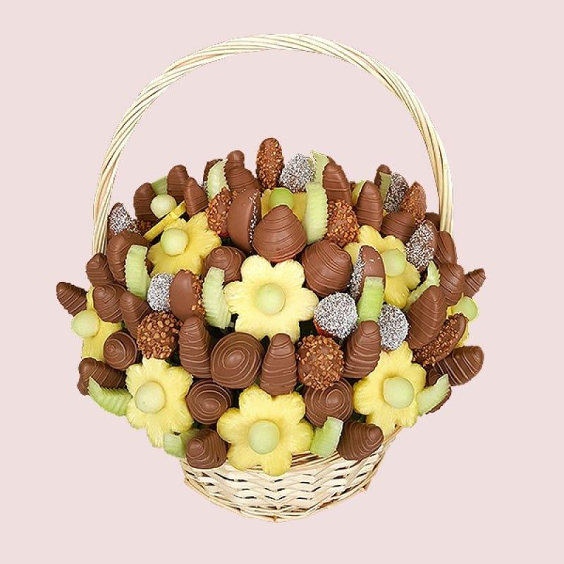 Apple Blossom Fruit Basket