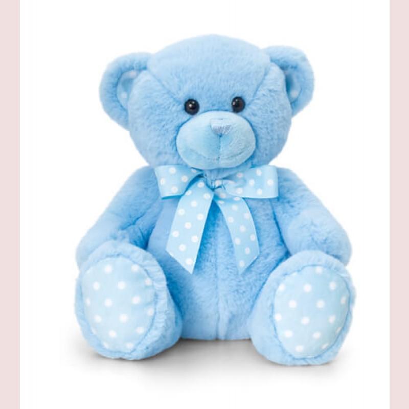 Blue Spotty Bear