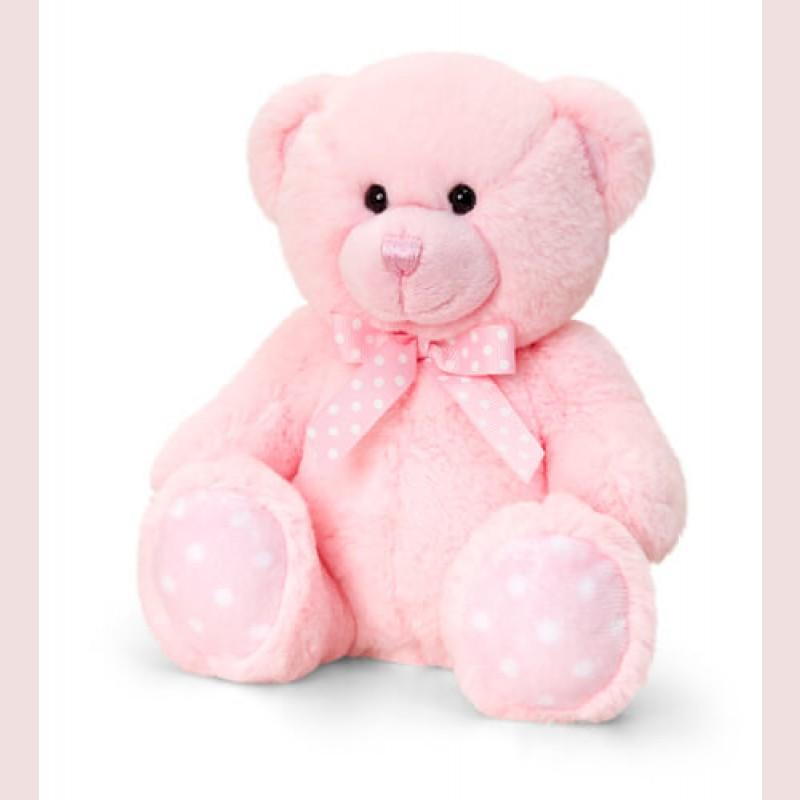 Pink Spotty Bear