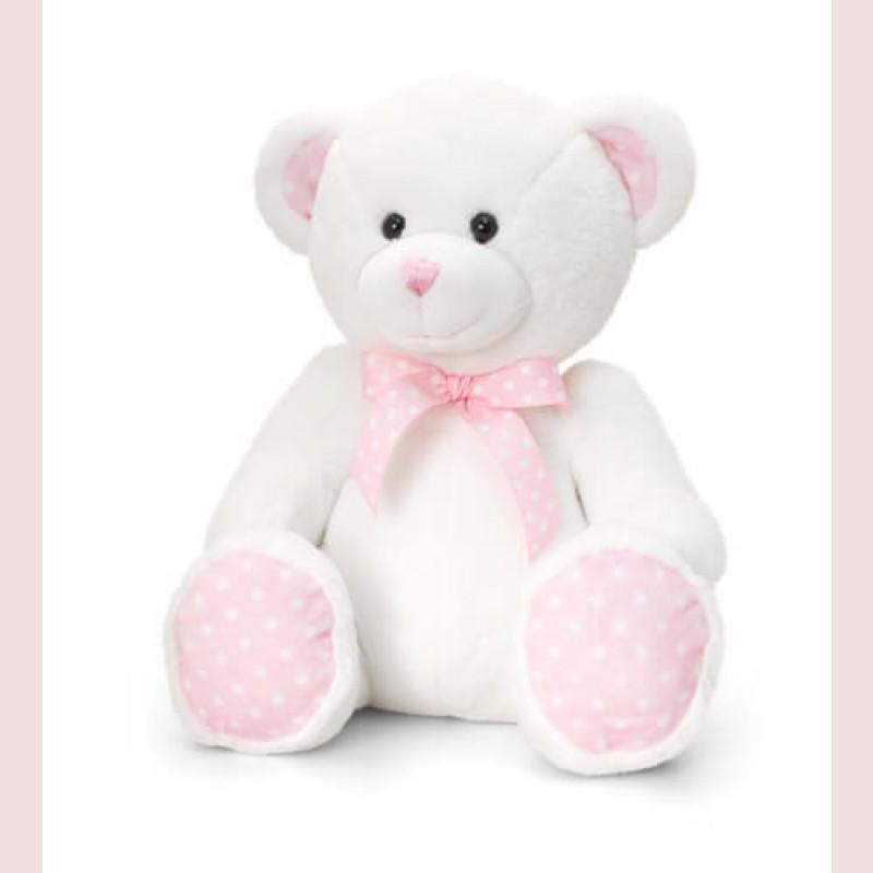 Pink Paws Teddy Bear