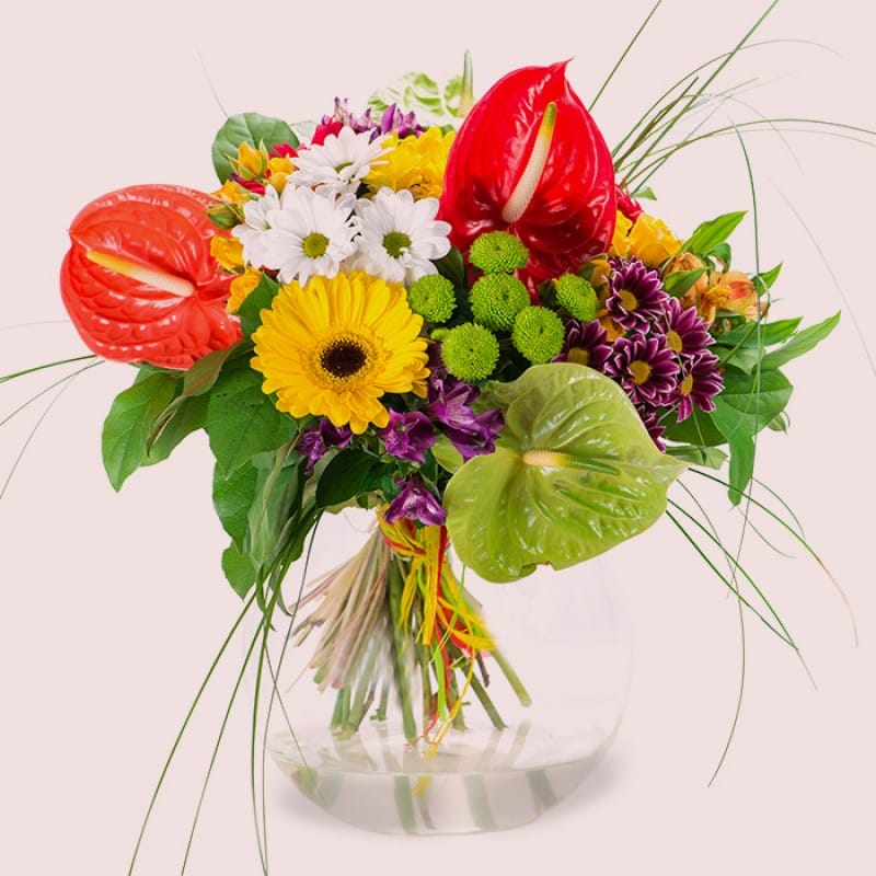 Blessed Blossoms Flower Bouquet