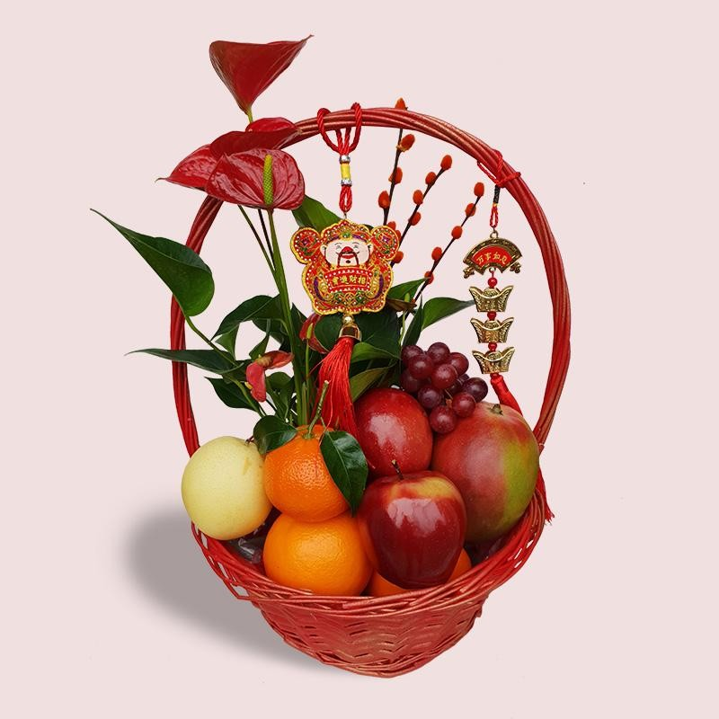 Chinese New Year Gift Basket | CNY Fruit Gifts | London