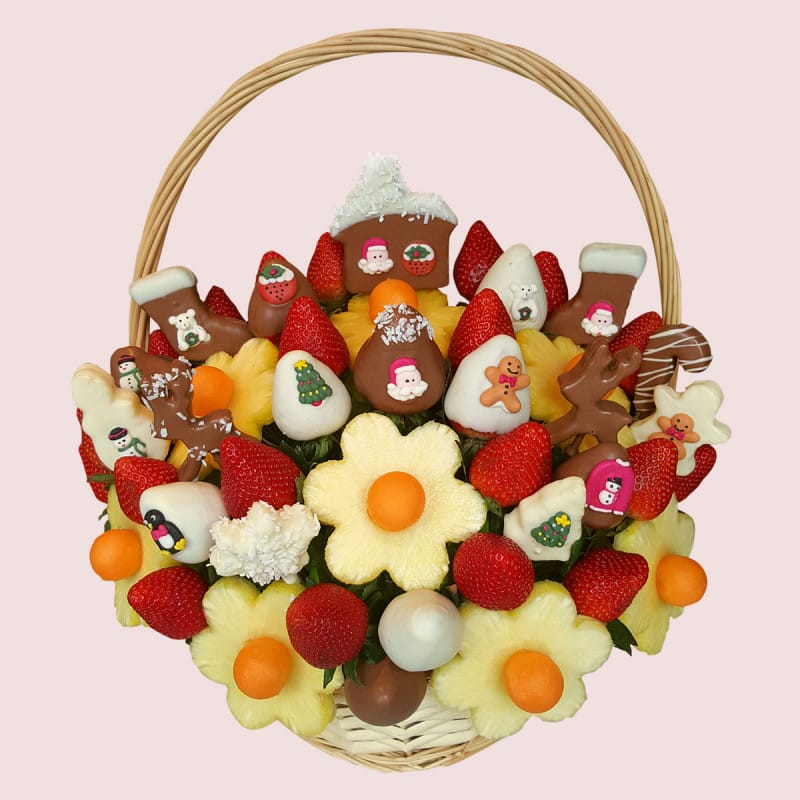 Christmas Party Basket