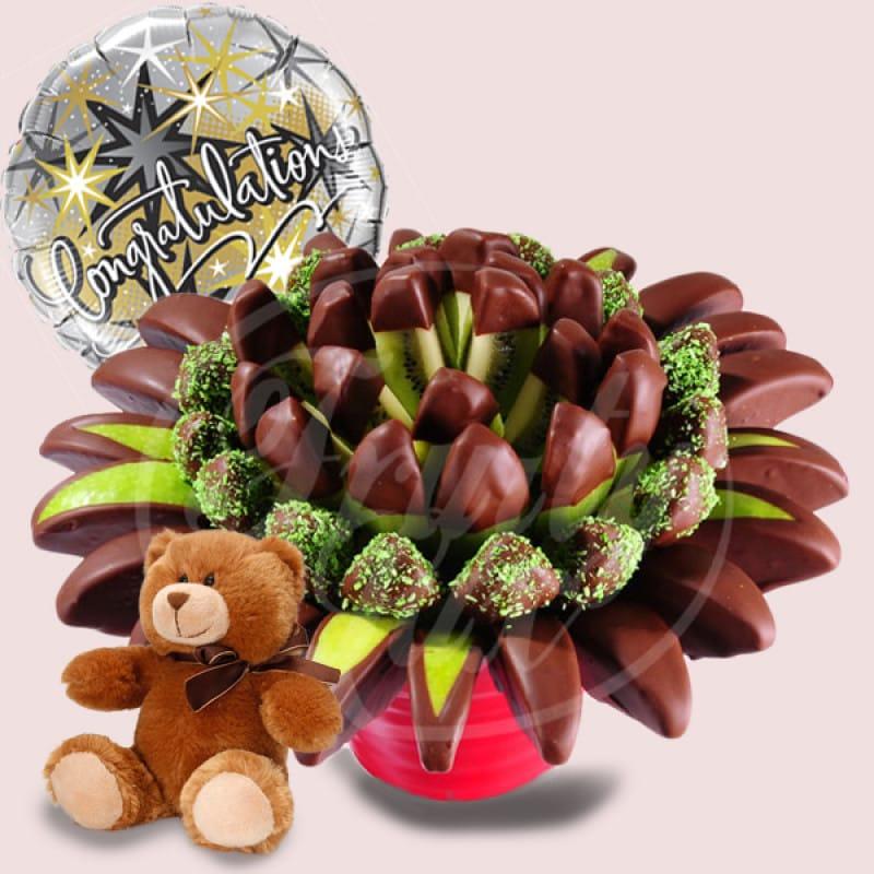 Congratulations Exotic Bouquet Package