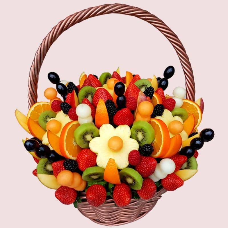 NEW! Deluxe Fresh Fruity Arrangement