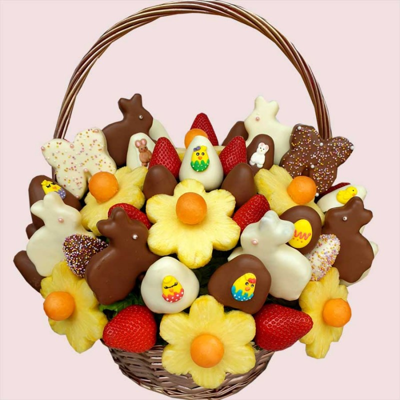 Easter Egg-Hunt Edible Bouquet