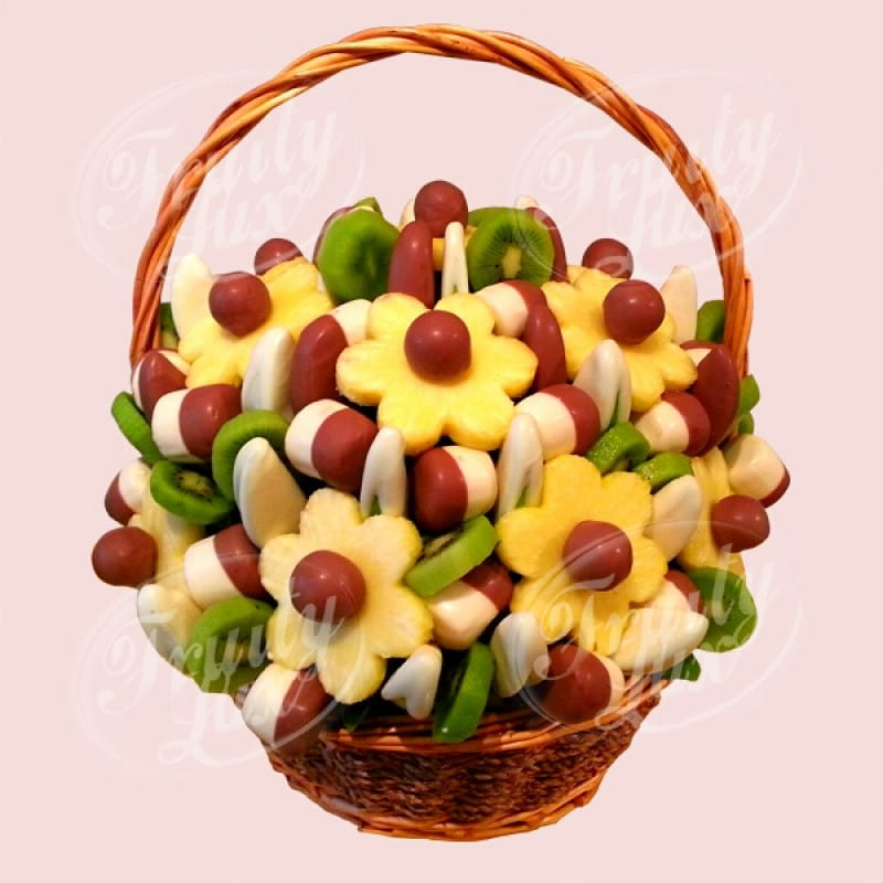 Kiwi & Apple Fruit Basket