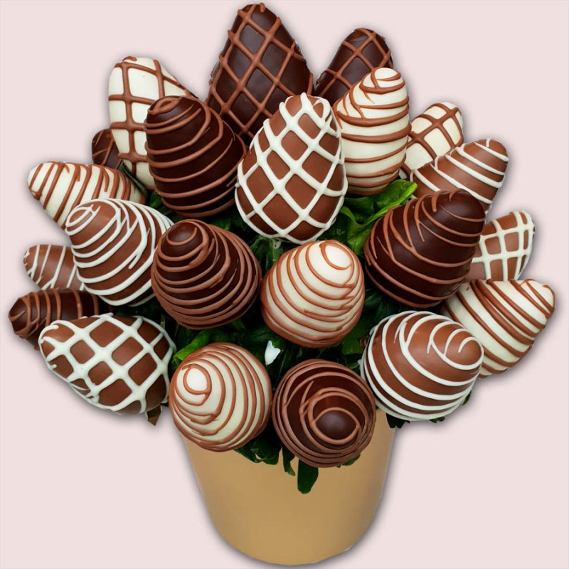 NEW! Finest Berries Chocolate Bouquet