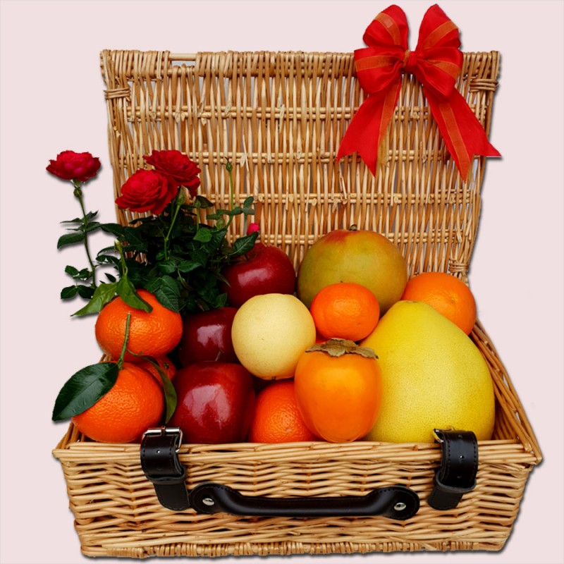 NEW! Fruity Flower Gift Hamper