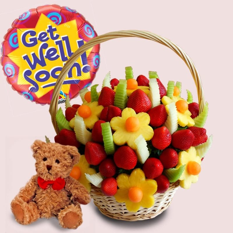 Get Well Soon Fruit Gift Package