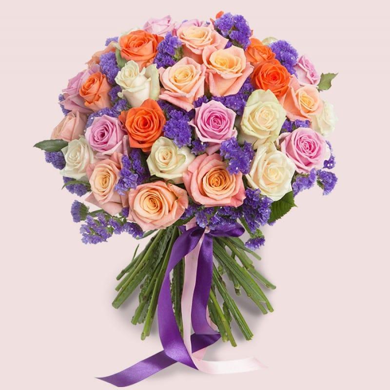 Love Blossoms Roses Bouquet