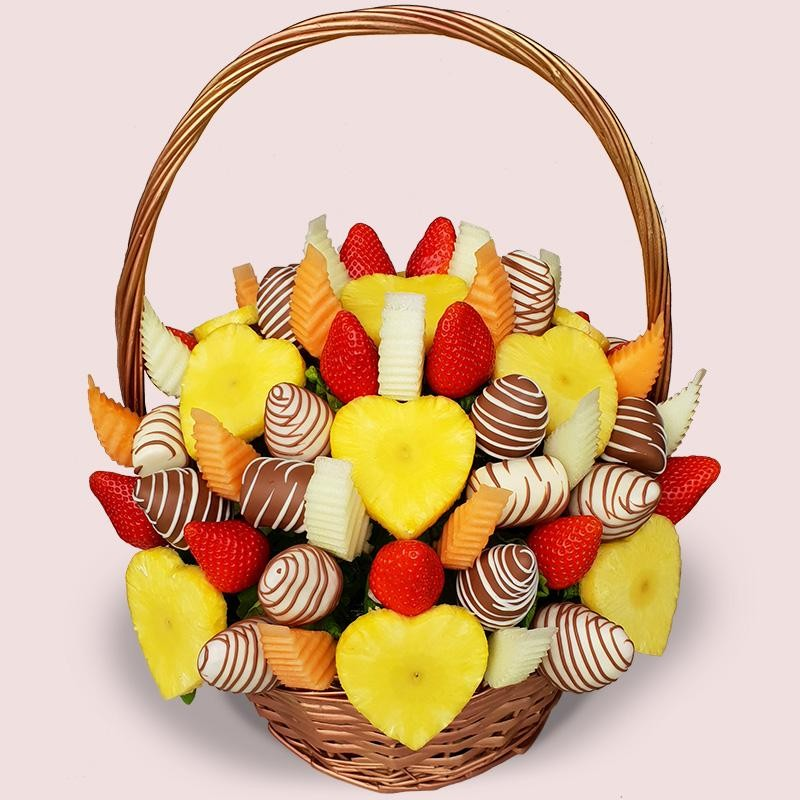 NEW! Love Fruit Basket
