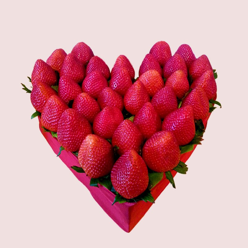 Love Strawberry Heart