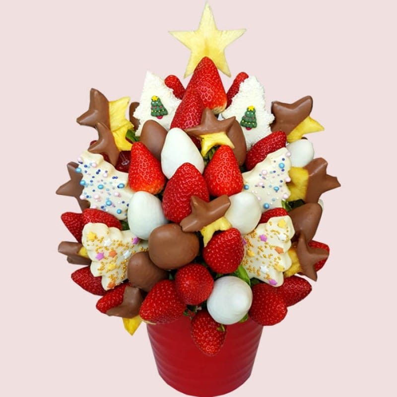 Magical Christmas Fruit Bouquet