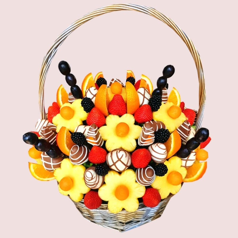 Mandarin Fruit Basket