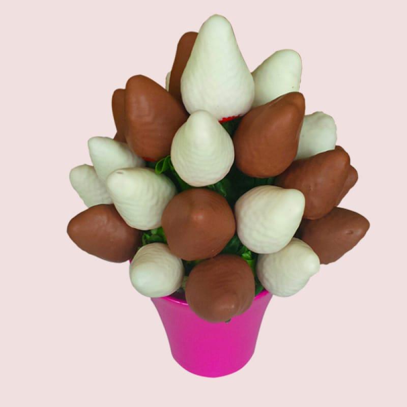 Milk Chocolate Fruit Bouquet