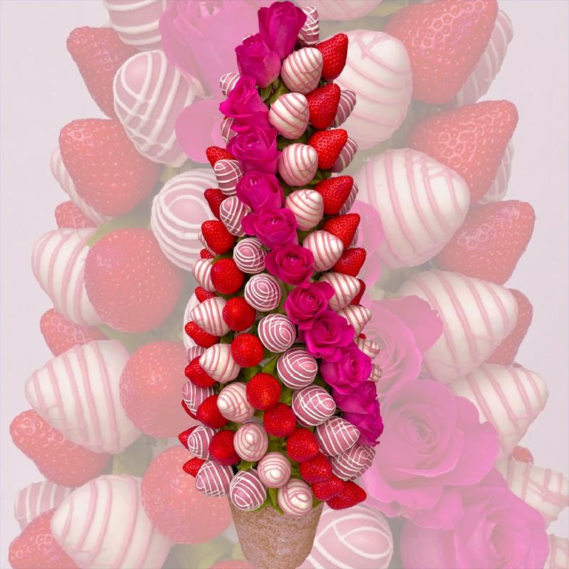NEW! Pink Romance Strawberry Tree