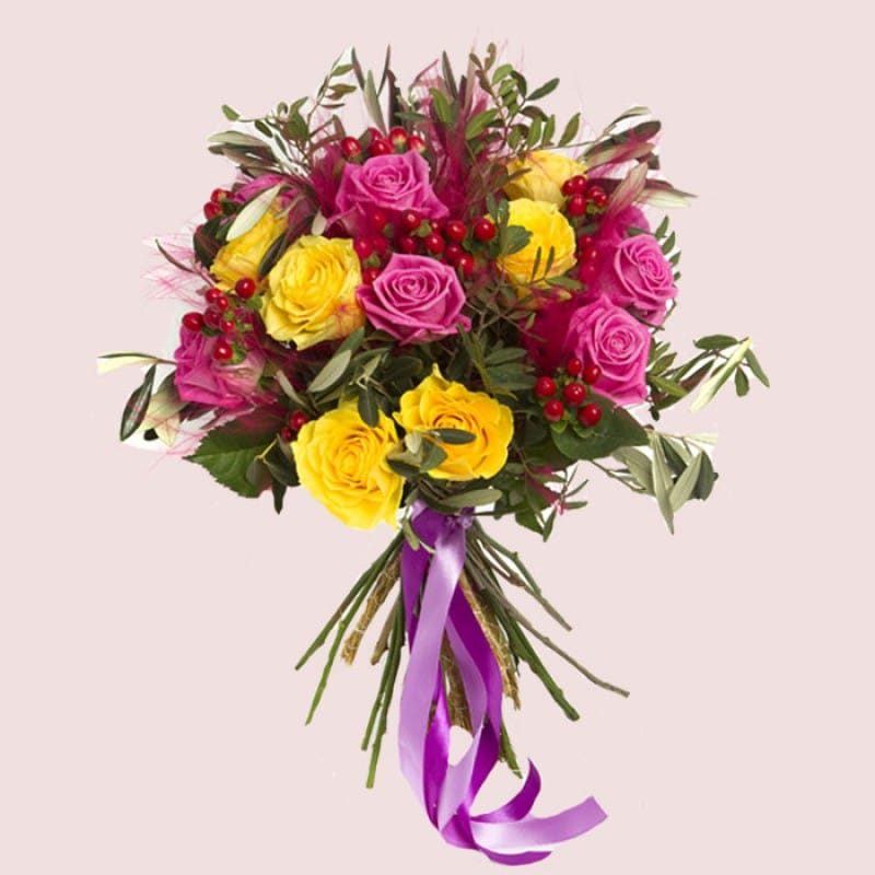 NEW! Roses Delight Bouquet
