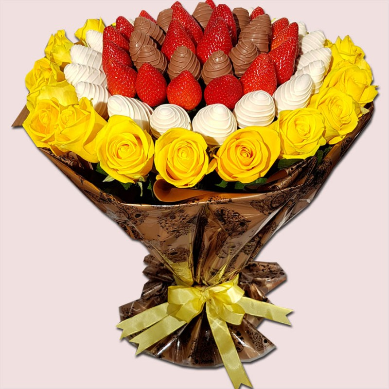 NEW! Sunshine Fruity Flower Bouquet