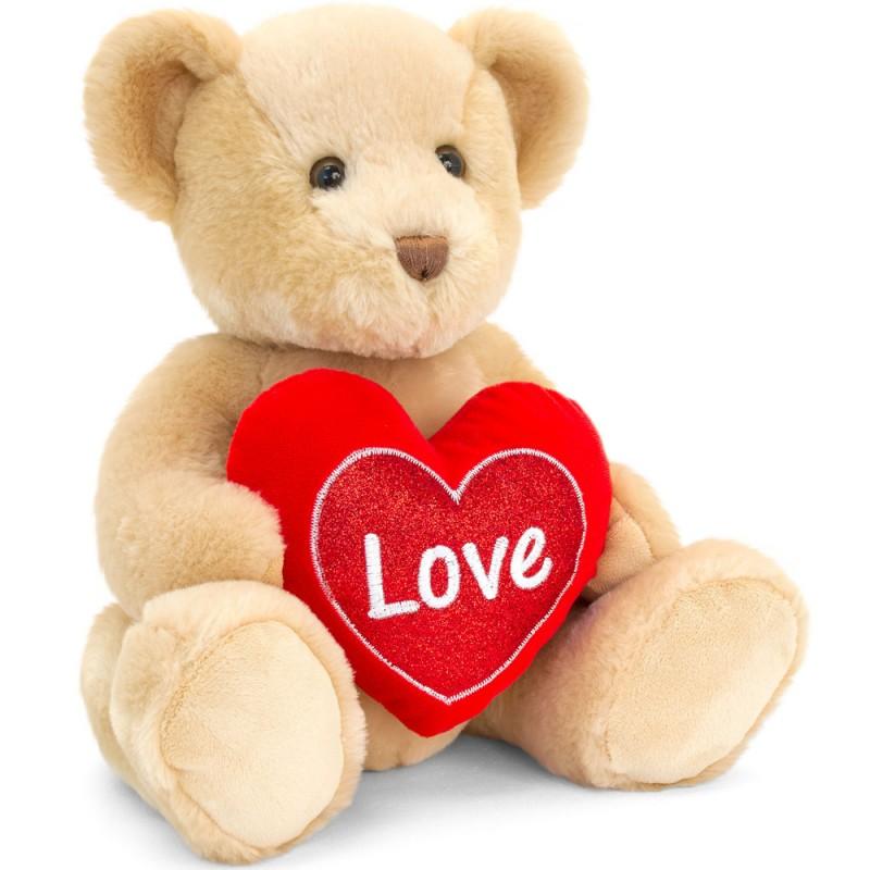 Valentine's Teddy Bear & Heart