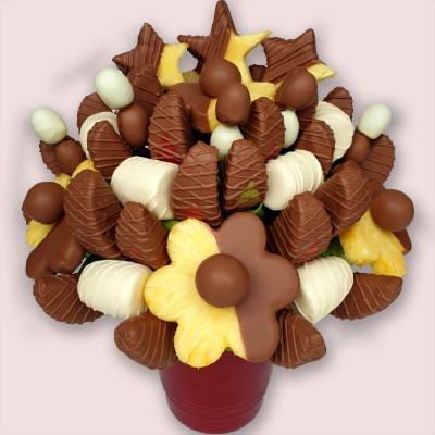 NEW! Chocolate Star Fruit Bouquet