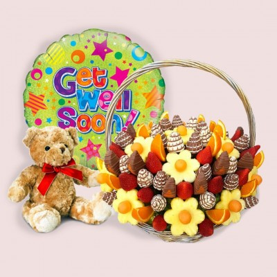 Get Well Edible Gift Package