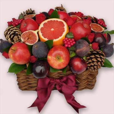 NEW! Holly Jolly Edible Bouquet