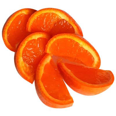8 Mandarin Slices