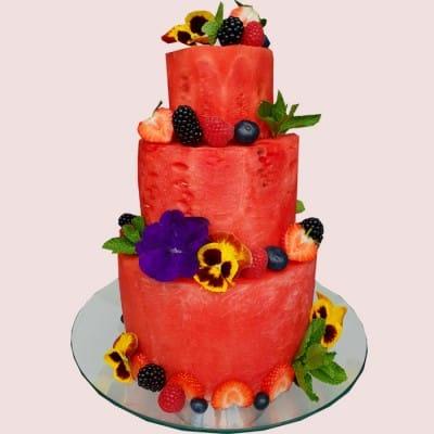 The Watermelon Cake