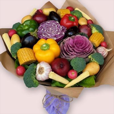 NEW! Veggie Supreme Edible Bouquet