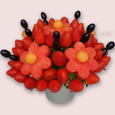 NEW! Watermelon Daisy Edible Bouquet