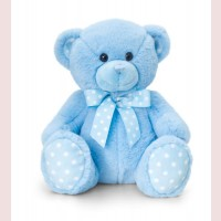 Blue Spotty Bear