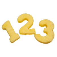 Pineapple Numbers 2 pcs