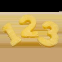 Pineapple Numbers 2 pcs