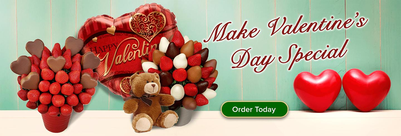 Valentines Edible Arrangements
